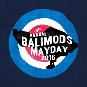 BALI MODS MAYDAY 2016 // SCOOTER RUN MODS SOUND