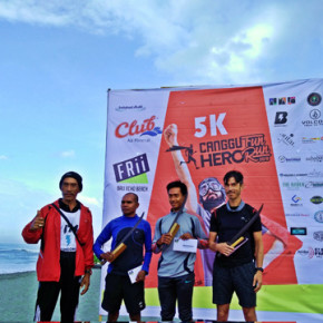 CANGGU HERO FUN RUN 2016 // TIME FOR HEROES TO WANDER AROUND CANGGU IN A HEALTHY AND FUN WAY