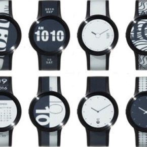 SONY // PREMIUM VERSION OF THE FES E-PAPER WATCH