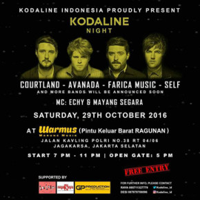 KODALINE INDONESIA // KODALINE NIGHT
