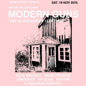 """MODERN GUNS // """"THE PLACE WHERE I LEFT YOU"""" LAUNCHING PARTY"""