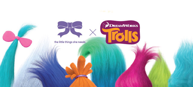 THE LITTLE THINGS SHE NEEDS PRESENTS ITS FIRST COLLABORATION WITH TROLLS THE MOVIE