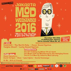 JAKARTA MOD WEEKENDER 2016