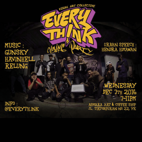 EVERYTHINK // PIDATO URBAN & PERTUNJUKAN MUSIK DI PENUTUPAN PAMERAN EVERYTHINK