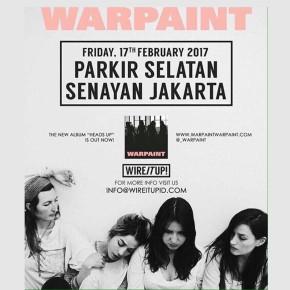 WARPAINT // HEADS UP TOUR 2017