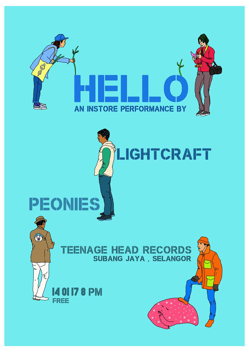 DAY-2---HELLO-IN-STORE-PERFORMANCE-AT-TEENAGE-HEAD-RECORDS-(PEONIES-+-LIGHTCRAFT)