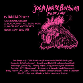 JOGJA NOISE BOMBING FEST 2017