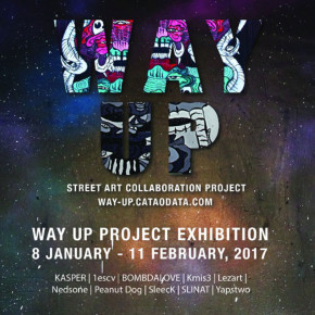 WAY UP // STREET ART COLLABORATION PROJECT