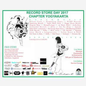 RECORD STORE DAY 2017 // CHAPTER YOGYAKARTA