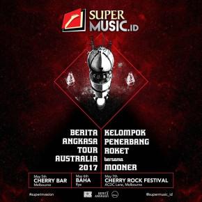 KELOMPOK PENERBANG ROKET X MOONER // AUSTRALIA TOUR 2017