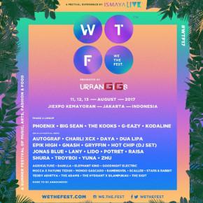 WE THE FEST 2017 // ANNOUNCES PHASE 2 LINEUP & VENUE