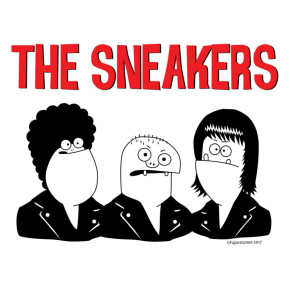 INTERVIEW WITH THE SNEAKERS