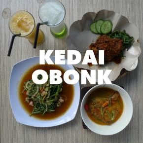 MAVE ON KULINER // KEDAI OBONK