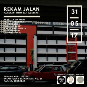 REKAM JALAN // PAMERAN FOTO DAN ILUSTRASI