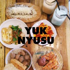 MAVE ON KULINER // YUK NYUSU
