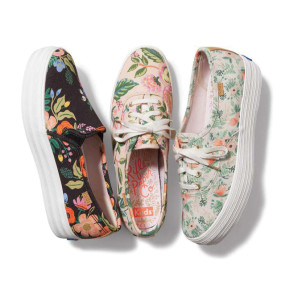 KEDS X RIFLE PAPER CO. A NEW COLLABORATION