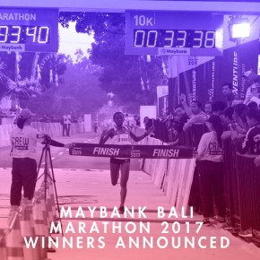 MAYBANK BALI MARATHON 2017 WINNERS ANNOUNCED