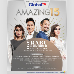 AMAZING15 GlobalTV