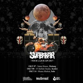 """SUABAKAR """"LAJUR API TOUR 2017"""""""