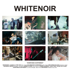 WHITENOIR 'EVERYONE IS DIFFERENT' // EP RELEASE