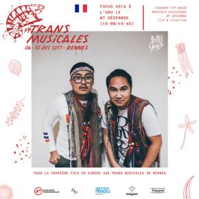BOTTLESMOKER MEWAKILI INDONESIA DI TRANS MUSICALES 2017