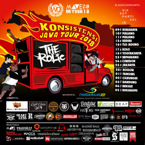 MAVE ON TOUR 2018 SUKSES MENDARAT DI KOTA SURABAYA & MALANG