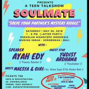 "A TEEN TALKSHOW ""SOULMATE"""