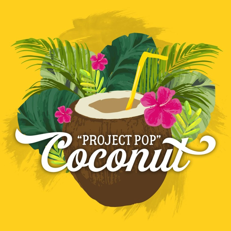 artwork coconut projectpop