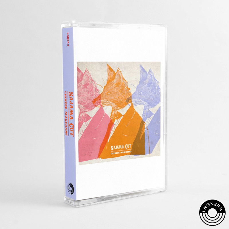 Artwork Cover Kaset Sajama Cut - DOK Langen Srawa Records