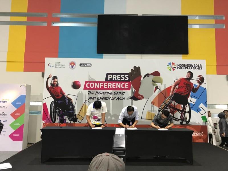 OSIM menjadi sponsor Asian Para Games 2018 (1)