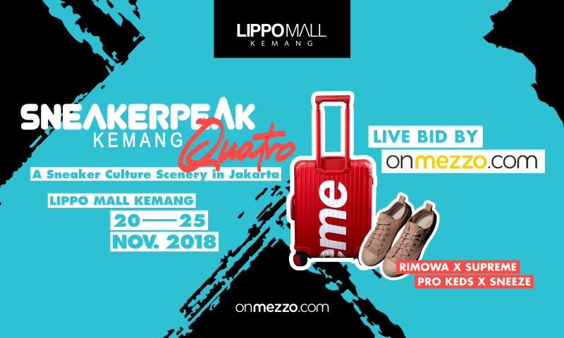 181119 - onmezzo.com Live Bid at Sneakerpeak