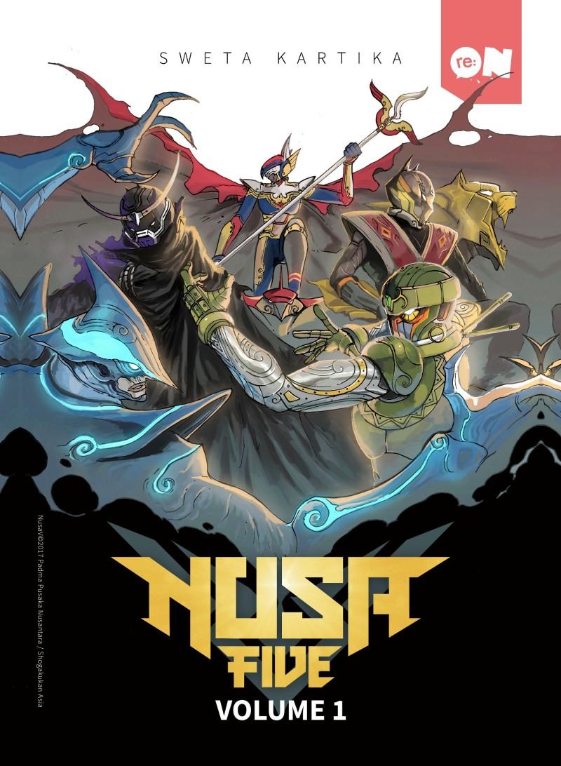 Cover depan NUSA V