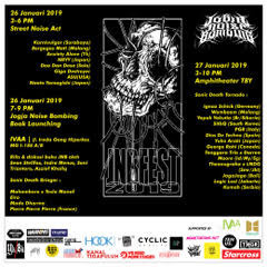 JOGJA NOISE BOMBING // JOGJA NOISE BOMBING FESTIVAL 2019