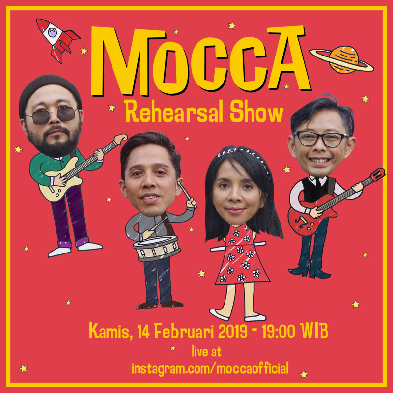 Mocca-Rehearsal Show