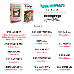 THE RANG RANGS & HIGH THERAPY MERIAHKAN RECORDS STORE DAY 2019