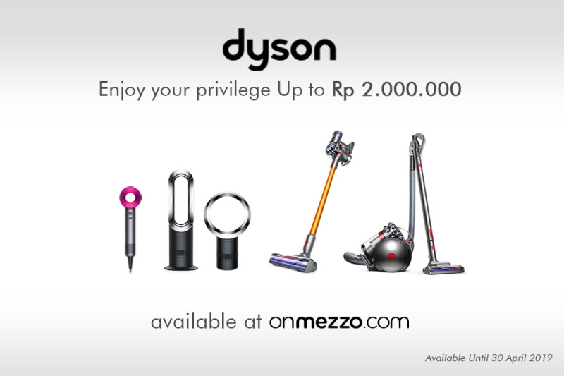 Poster Promo Dyson di onmezzo.com Selama Bulan April 2019
