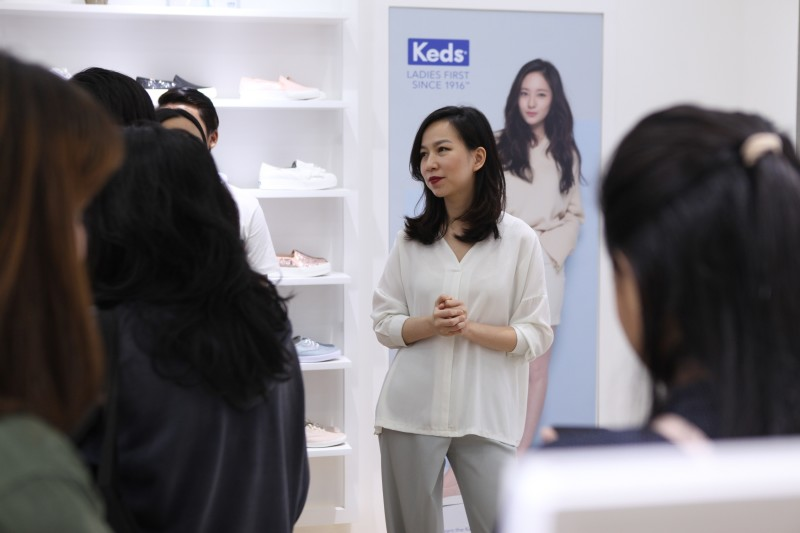 Reni Lauw, Brand Manager Keds Indonesia