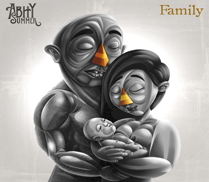 Cover - Abhy Summer - Family