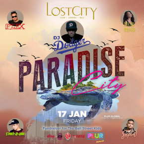 "LOST CITY CLUB CANGGU // GELAR ""PARADISE CITY"""