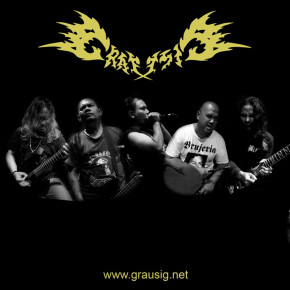"GRAUSIG // VIDEO SINGLE ""THY OF THE DAMNED"""