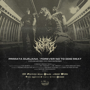 "VOX MORTIS // SINGLE ""PRIMATA DURJANA"" & ""FOREVER NO TO DOG MEAT"""