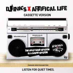"""D'JENKS // LEPAS ALBUM COVER """"ARTIFICIAL LIFE"""""""