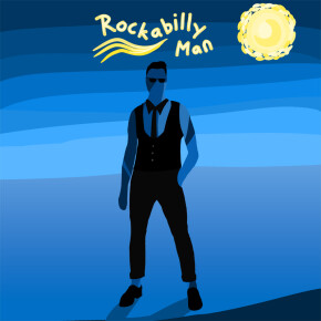 "THE SENIOR HIGH SHCOOL // SINGLE ""ROCKABILLY MAN"""