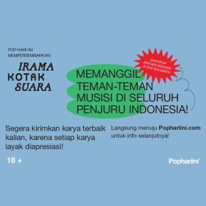 POP HARI INI // IRAMA KOTAK SUARA NOVEMBER SUDAH DIGELAR!