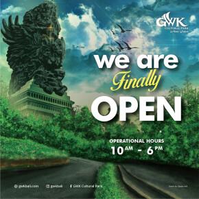GWK CULTURAL PARK DIBUKA KEMBALI DENGAN MENERAPKAN PROTOKOL KESEHATAN