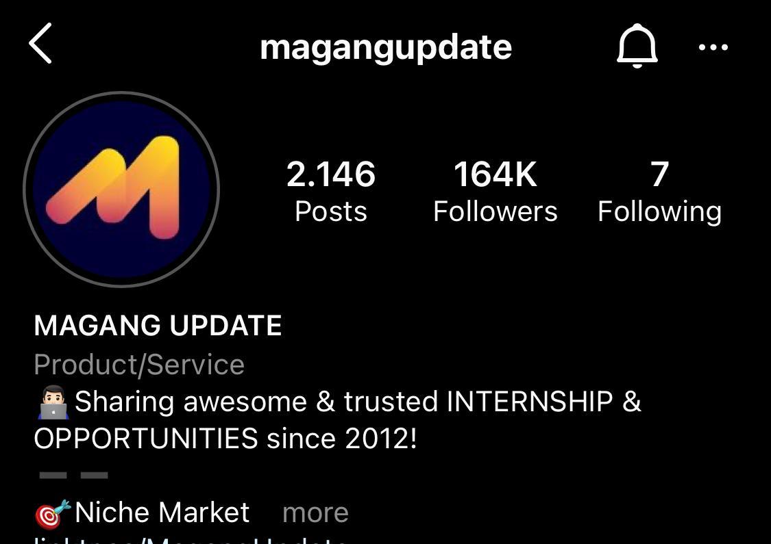magang update