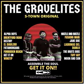 """THE GRAVELITES // MERILIS ALBUM """"GET IT ON!"""""""