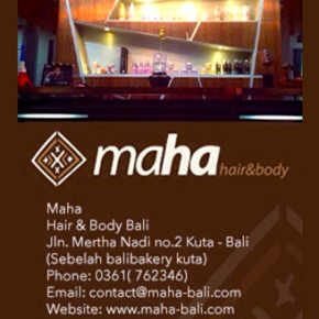 MAHA HAIR & BODY -- ETHNIC MEETS COZY