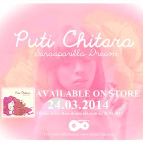 "PUTI CHITARA DEBUT ALBUM ""SARSAPARILLA DREAM"""