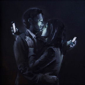 """BANKSY // """"SMARTPHONE OBSESSION"""""""